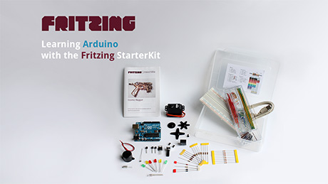 Learning Arduino with the Fritzing Starter Kit