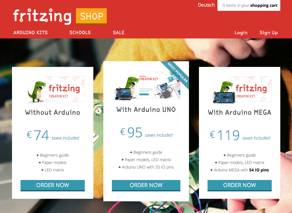 new-fritzing-shop